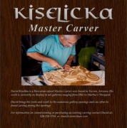David Kiselicka Master Wood Carver